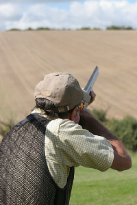 Wylye Clay Shooting - Shot
